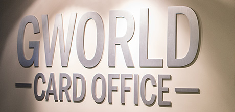 GWorld Card Office sign
