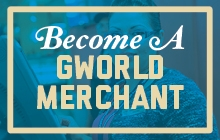 Become a GWorld Merchant