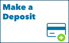 Make a deposit button